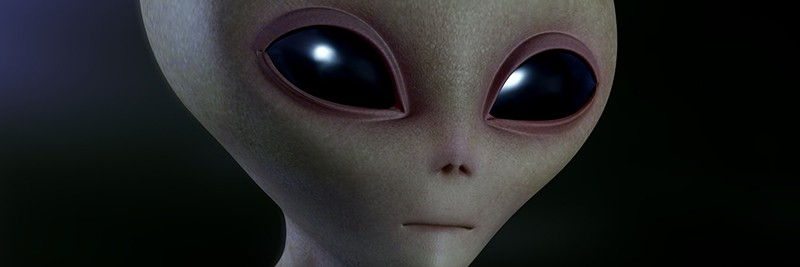 Se sentir extra-terreste (image d'alien)