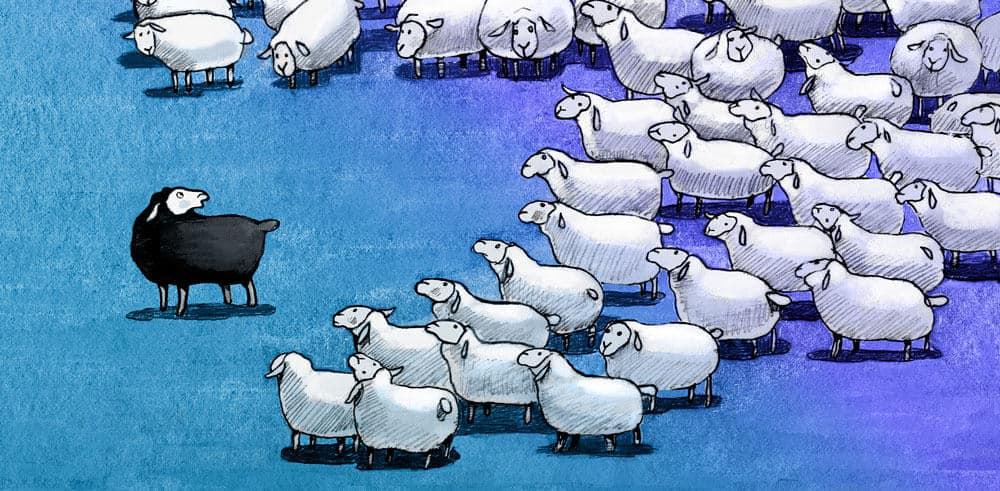Être le mouton noir - Solitude et asperger
