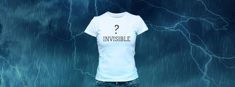 L'autisme est parfois invisible.