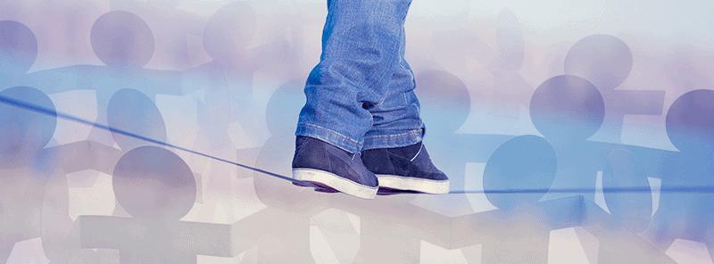Promenade sans personne élastique pour une autiste Asperger