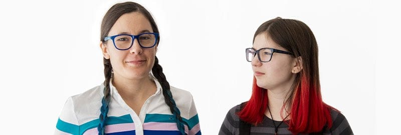 Article mère fille autisme - Valérie Jessica Laporte et Zoé Clémentine Gauthier